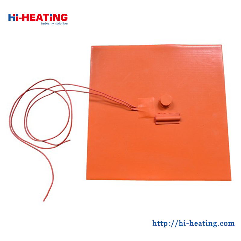 High Strength Good Flexibility Sillicon Rubber Heaters
