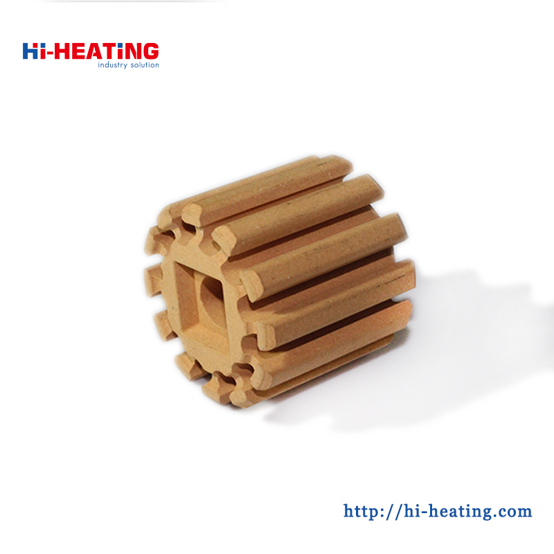 High voltage resistance Cordierite Honeycomb Ceramic Core For Bobbin Heaters