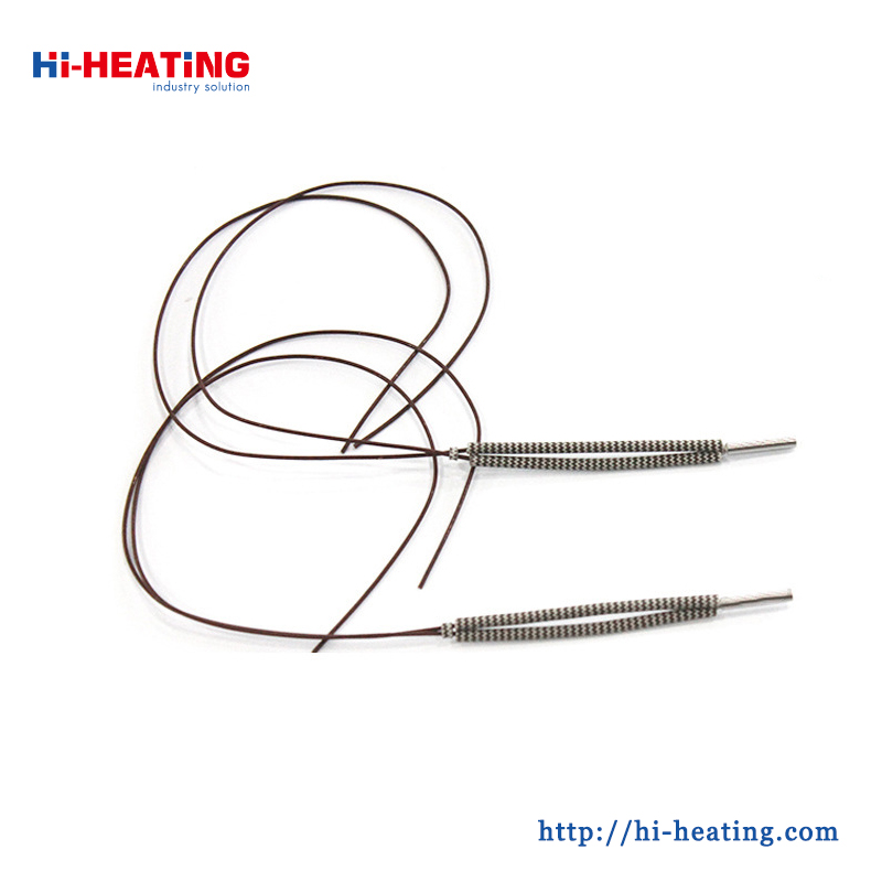 High Quality Teflon Pure Nickel Wire 3mm Single-End Cartridge Heaters